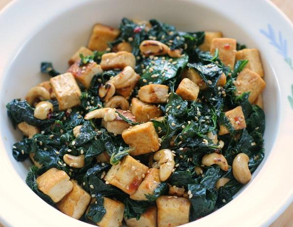 Chicken Tofu Stir Fry